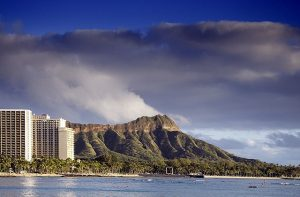 Diamond Head - Honolulu beach