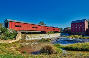 Indiana - covered bridge