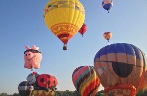 Hot Air Balloons over Plano