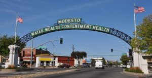 Downtown Modesto, CA